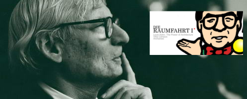 DerRaumjournalist_DieRaumfahrtI__Louis_Kahn_Portrait_00017044_497. Im Bild: Louis Kahn, ca. 1972 © Robert C. Lautman Photography Collection, National Building Museum