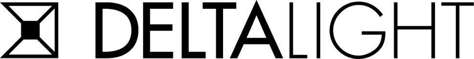 Logo Deltalight Delta Light. (LOGO ZWART_DeltaLight)