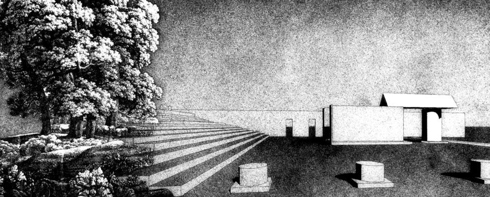 FSB Lecture: Die Architektur der Stadt - Aldo Rossis Gegenwelten. Foto: Mit freundlicher Genehmigung des Deutschen Architekturmuseums Frankfurt am Main. (DerRaumjournalist_Motiv_Aldo-Rossi_497)