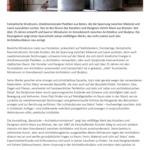 Baustücke - Architekturminiaturen. Foto: . (Poster-lang_Baustücke_kl)