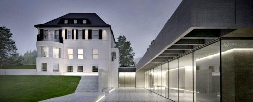 Ausstellung Bluebox die JUNG Gründervilla. Foto: JUNG. (nga-nehse-gerstein-architekten-bda-hannover_497)