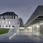 Ausstellung Bluebox die JUNG Gründervilla. Visualisierung: nga. (nga_Visualisierung_1)