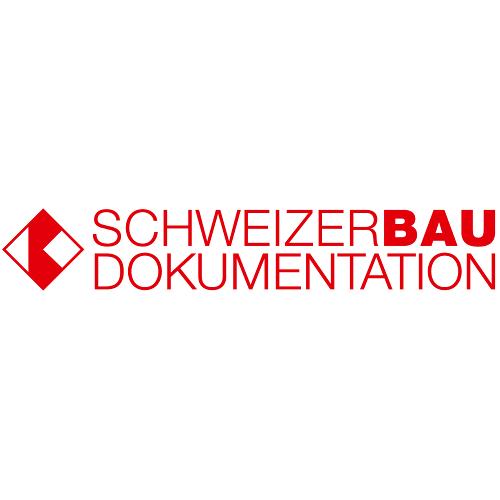 Schweizer Baudokumentation Logo. (Schweizer Baudokumentation Logo)