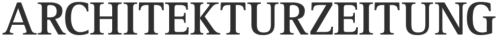 Logo Architekturzeitung. (Architekturzeitung)