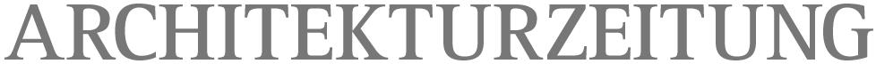 Architekturzeitung