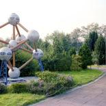Kleine Modellstadt - Minidomm. Bild: C.Konrad + St.Schneider Minidommarchiv 1991. (Atominum Brüssel)