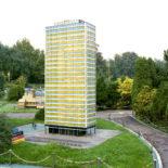 Kleine Modellstadt - Minidomm. Bild: C.Konrad + St.Schneider Minidommarchiv 1991. (Mannesmann)