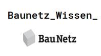 Logo Baunetz Wissen. (Logo_Baunetz_Wissen_Quadrat)