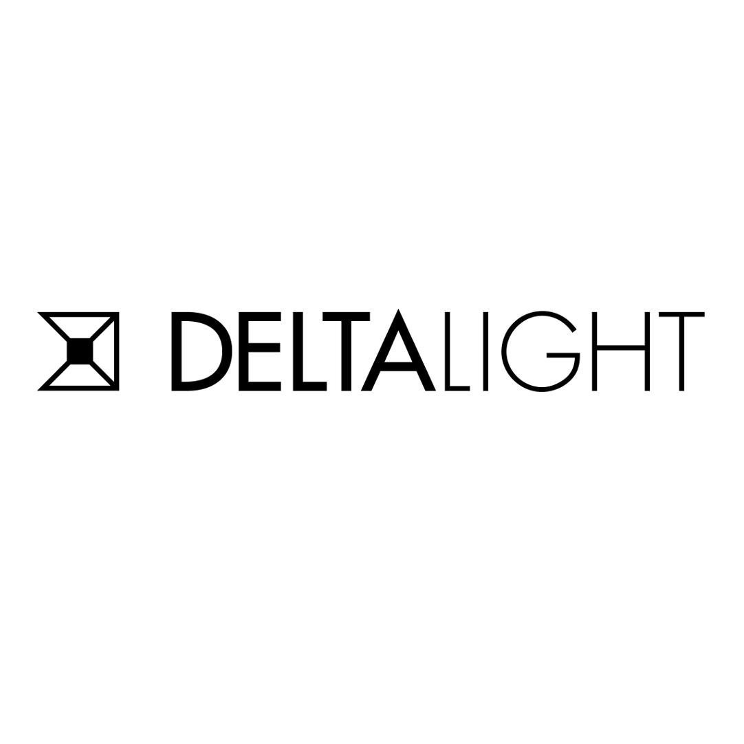 Delta Light Logo Quadrat. (LOGO ZWART_DeltaLight_Quadrat)