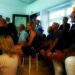 Stifters Rosenhaus - Book Release Party. Foto: Der Raumjournalist Verena Funk. (DerRaumjournalist_1608_21_P1170789)