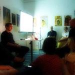 Stifters Rosenhaus - Book Release Party. Foto: Der Raumjournalist Verena Funk. (DerRaumjournalist_1608_25_P1170823)